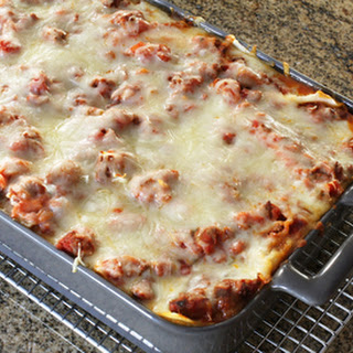 Favorite Meaty Lasagna