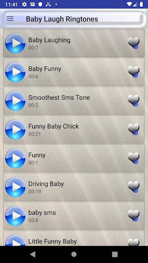 Baby Laugh Ringtones and Babies Wallpapers screenshots 1