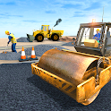 Highway Road Construction Game icon