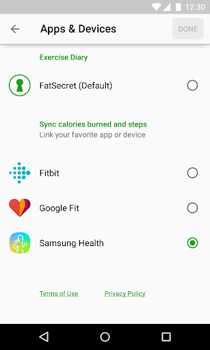 Calorie Counter by FatSecret screenshot 5