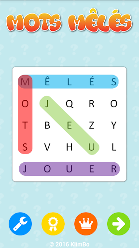 Word Search French