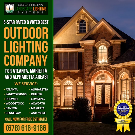 outdoor lighting marietta