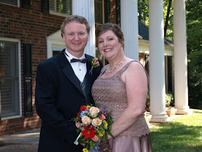 Photo: Married at their lovely home - 7/09 ~ Easley, SC  ~ www.WeddingWoman.net ~