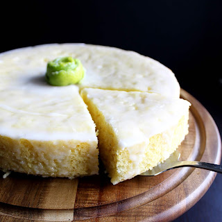 Tequila Lime Corn Cake.