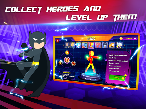 Super Stickman Heroes Fight screenshots 10