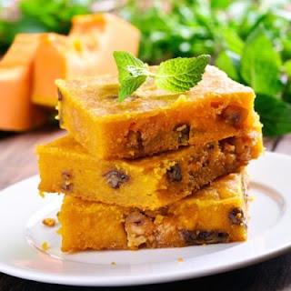 Pecan Pumpkin Pie Squares