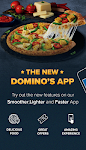 screenshot of Domino's Pizza Online Delivery