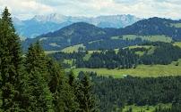 Rotspitz Großer Daumen Nebelhorn Allgäuer Bergwelt Nagelfluhkette Allgäu