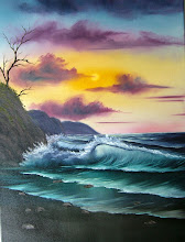 """Photo: 2108 By-The-Sea. Oil on canvas. Frame: no. Price: 18"""" x 24"""" $249.00"""