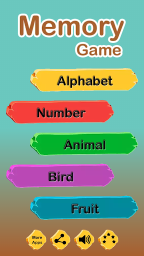 Memory Game for Kids: Match the card pair 2.4 screenshots 1