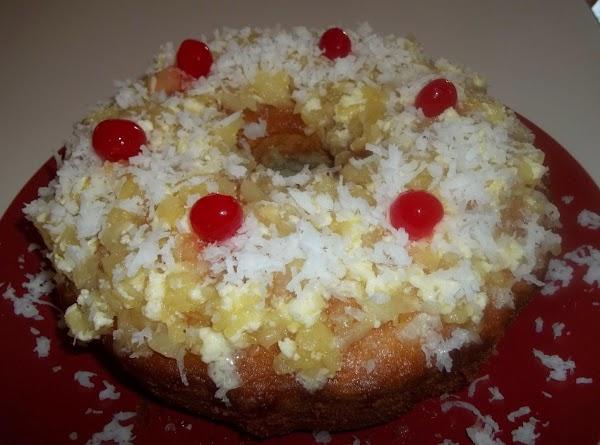 Hot Skillet Pineapple Cake