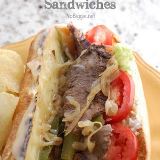 Philly Cheese Steak Sandwiches