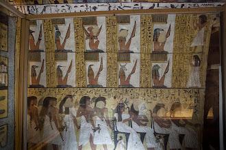 Photo: TT 1 Tomb of Sennedjem - guardians