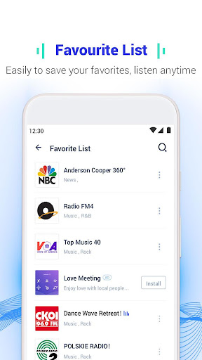 Melody Radio - Live radio, Music & Free FM 1.0.1 app download 4