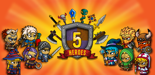 Five Heroes: The King's War Mod Apk 2.8.7 (Unlimited money)