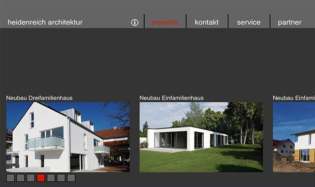 heidenreich architektur- screenshot