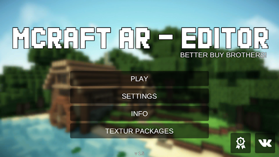 MCRAFT AR - EDITOR Screenshot