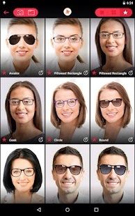 Try On Different Glasses Frames : Glassify - TryOn Glasses - Android Apps on Google Play
