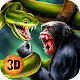 Wild Anaconda Snake Fighting: Animals Battle Game