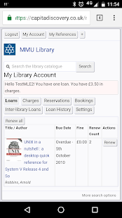 MyMMU - Mobile- screenshot thumbnail