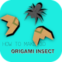 How to Make 3D Origami Insect icon