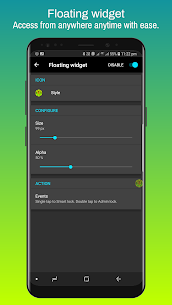Screen Lock : Pro screen off and lock app v4.6p [Patched] APK 8