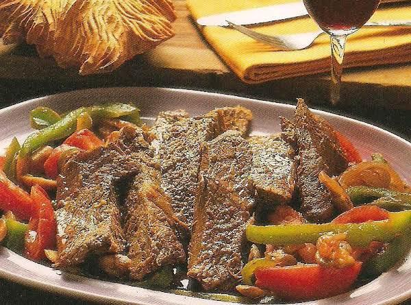 Mexican Steak (bisteca A La Mexicana)