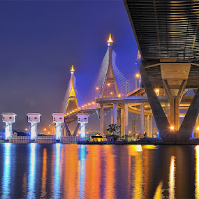 by Chatchai Lakamankong - Buildings & Architecture Bridges & Suspended Structures