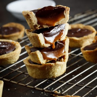 Salted Caramel And Chocolate Cups.