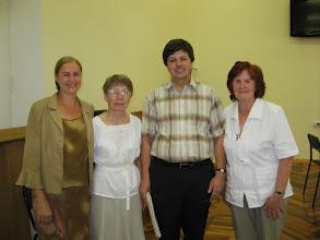 """Photo: Etter """"medkjensle-konserten"""" i Novgorod Regionale Vitskapsbiblioteket, den 28. juli 2011"""