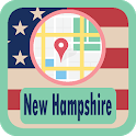 USA New Hampshire Maps icon