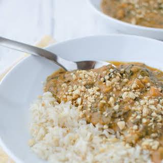 Vegan African Peanut Soup.
