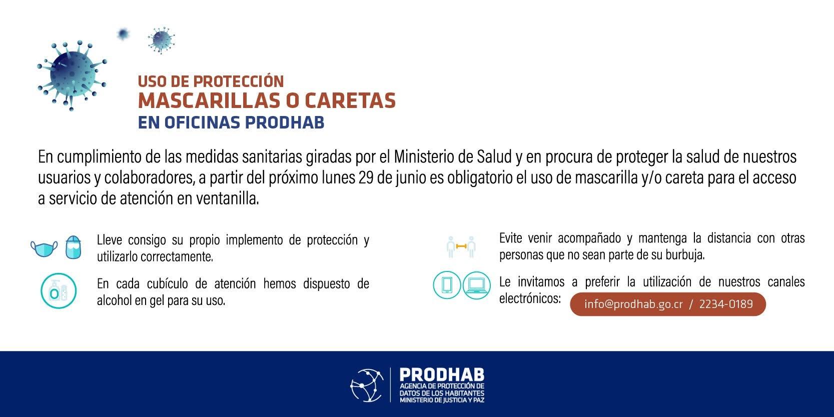 Uso de protección COVID-19