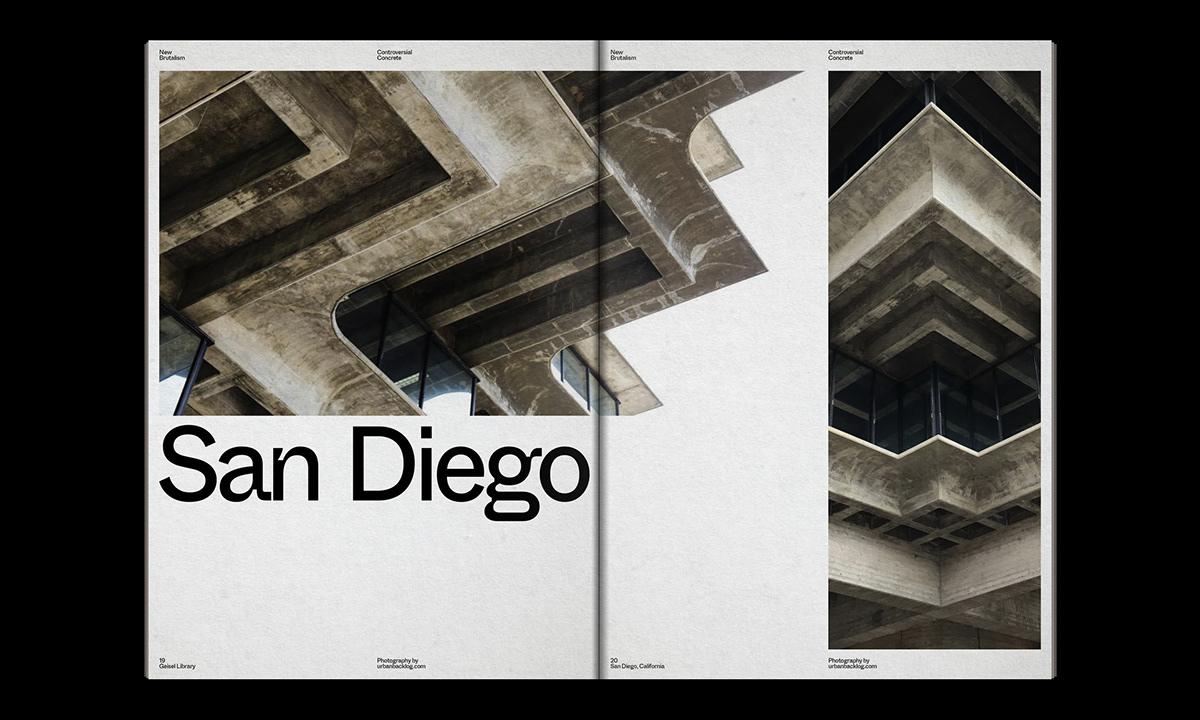 Editorial Design : New Brutalism Controversial Concrete 33