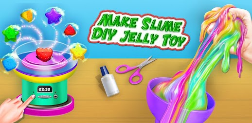 How To Make Slime DIY Jelly Toy Play fun APK