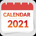 Calendar 2021 - हिंदी कैलेंडर 2021 icon