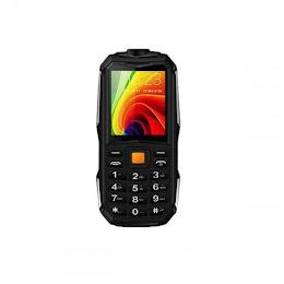 Telefon militar 2800 mAh, Dual SIM, FM radio, lanterna, verde-gri