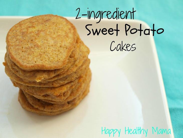 2-Ingredient Sweet Potato Cakes {Gluten-Free, Dairy-Free, Nut-Free} Recipe