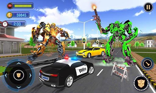 US Robot Car Transform - Police Robot Fighting 1.0.1 screenshots 2