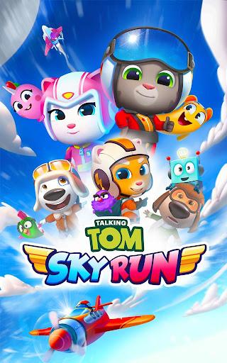 Talking Tom Sky Run: The Fun New Flying Game apktram screenshots 16