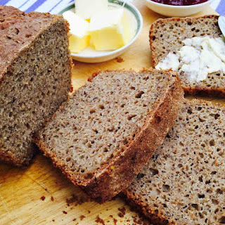 Rye And Ground Linseed Bread.