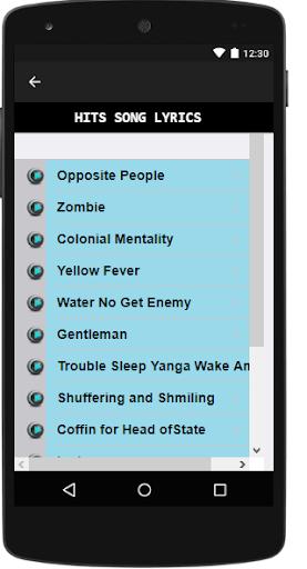 Download Fela Kuti Songs & Lyrics  Google Play softwares
