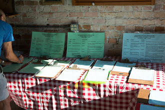 Photo: ride signup!