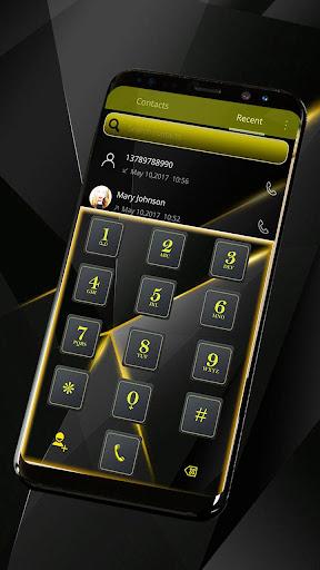 Black Luxury Theme for Huawei screenshot 5