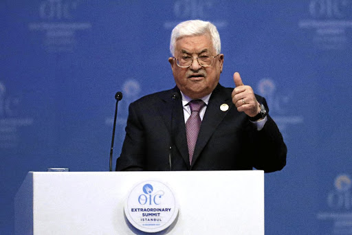 Palestinian President Mahmoud Abbas. Picture: REUTERS