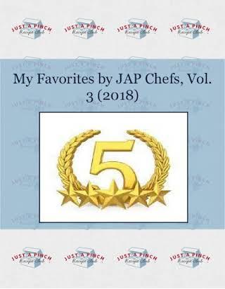 My Favorites by JAP Chefs, Vol. 3 (2018)