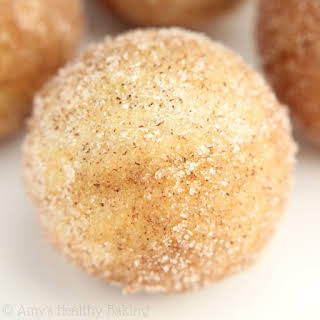 Baked Snickerdoodle Donut Holes.