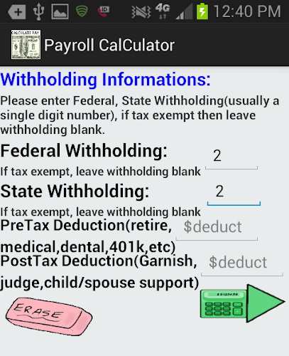 accurate pay calculator noad on google play reviews stats