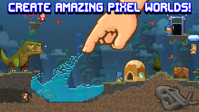 The Sandbox Evolution - Craft a 2D Pixel Universe! Screenshot 0