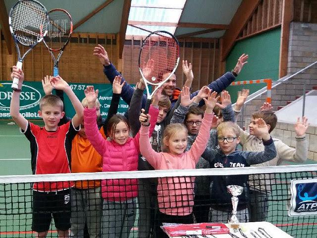 15/01/2018 - Un plateau Galaxie Tennis pour commencer l'année en beauté !